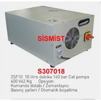 """10 Lt/Dk Yüksek Basınçlı Sisleme Pompa Motor Grubu """"Cat-Pump"""""""