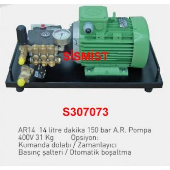 """14 Lt/Dk Yüksek Basınçlı Sisleme Pompa Motor Grubu """"Ar-Pump"""""""