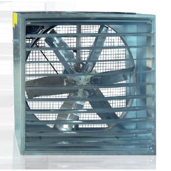 Otomatik Panjurlu Kutu Fan 100x100cm Ve 140x140cm 380V