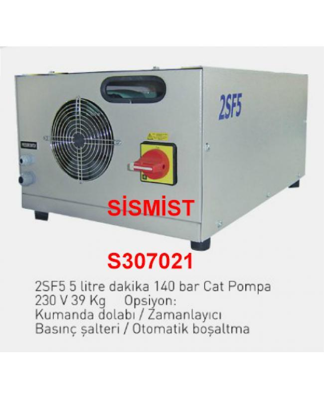 """5 Lt/Dk Yüksek Basınçlı Sisleme Pompa Motor Grubu """"Cat-Pump"""""""