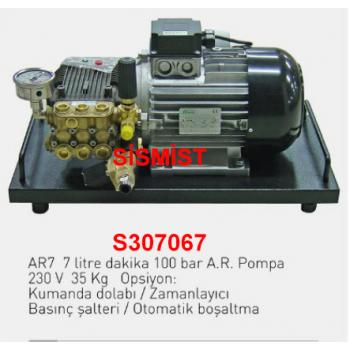 """7 Lt/Dk Yüksek Basınçlı Sisleme Pompa Motor Grubu """"Ar-Pump"""""""