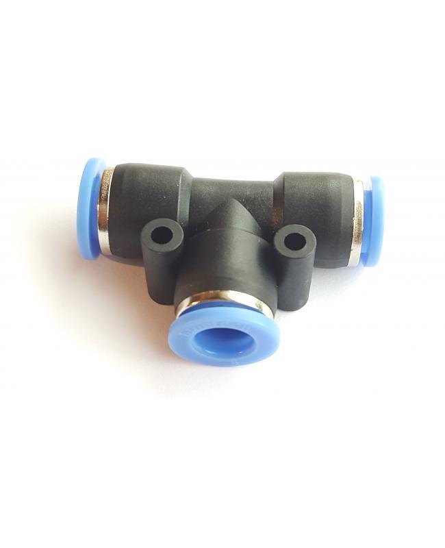 8-8-8mm Te Bağlantı (8mm Hortum İçin)