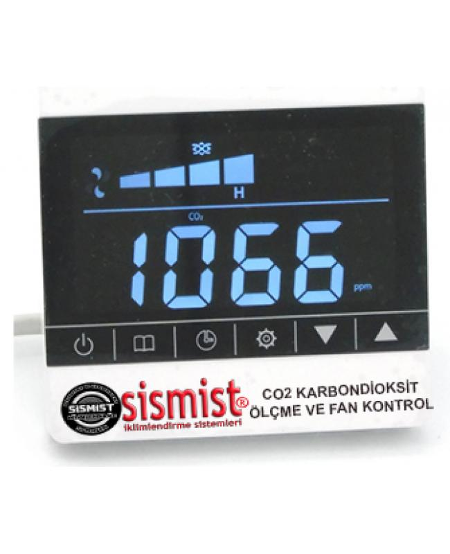 Co2 Karbondioksit Ölçme Ve Fan Kontrolü Cihazı