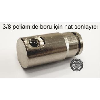 Yüksek Basınç Hat Sonu Nozul Taşıyıcısı 3/8 Poliamid Boru İçin