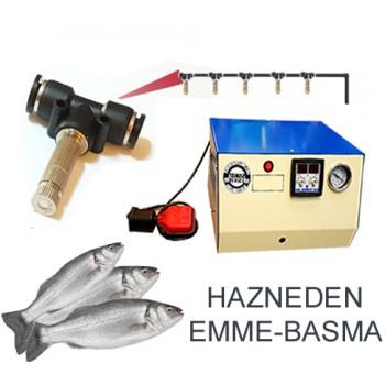 Balık Reyonu 5 Metal Uçlu Püskürtme..