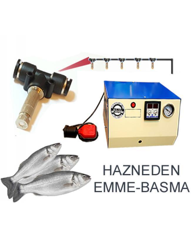 Balık Reyonu 5 Metal Uçlu Püskürtme Sistemi Emme Basma No:MBK5
