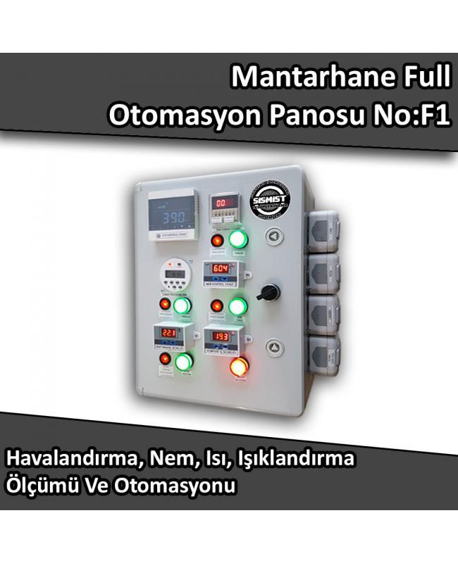 Mantarhane Full Otomasyon Panosu No:F1