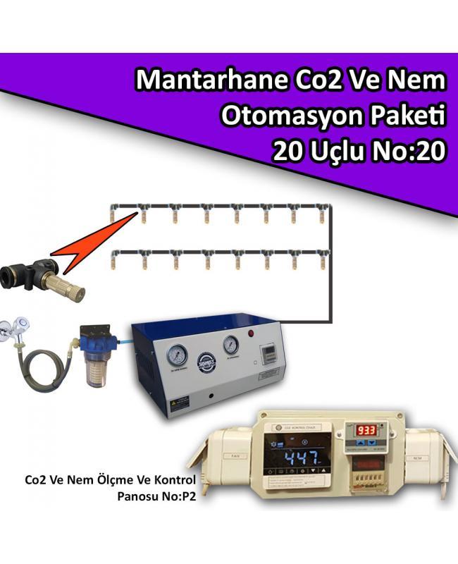 Mantarhane İklimlendirme Mini Otomasyon Paketi No:20