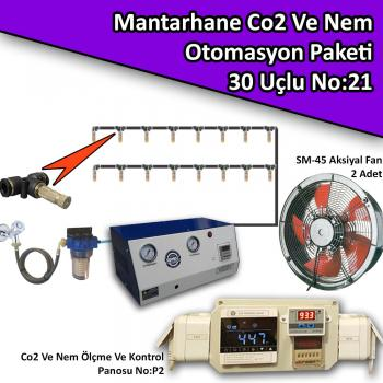 Mantarhane Co2 Ve Nem Otomasyon Paketi No:21