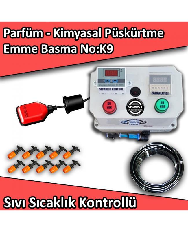 Parfüm, Kimyasal Püskürtme Emme Basma Mini Sistem Sıvı Sıcaklık Kontrollü No:K9