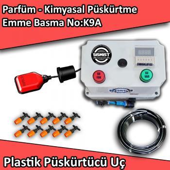 Parfüm, Kimyasal Püskürtme Emme Basma Mini Sistem Plastik Nozullu No:K9A