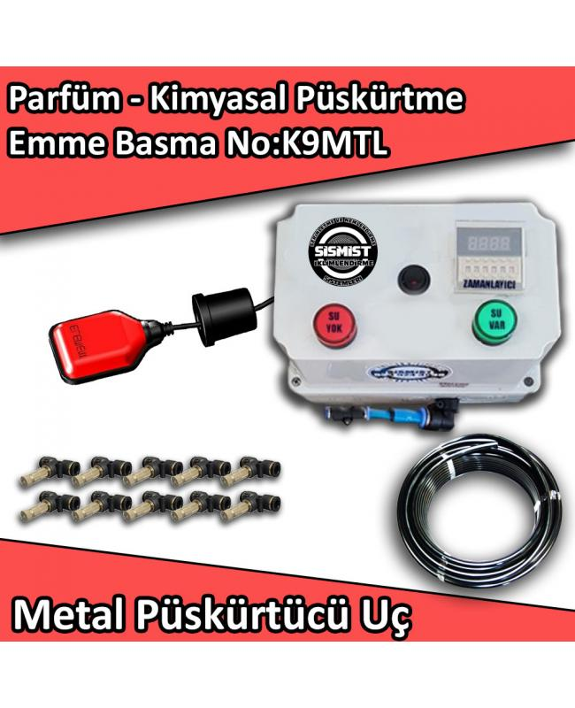 Parfüm, Kimyasal Püskürtme Emme Basma Mini Sistem Metal Nozullu No:K9MTL