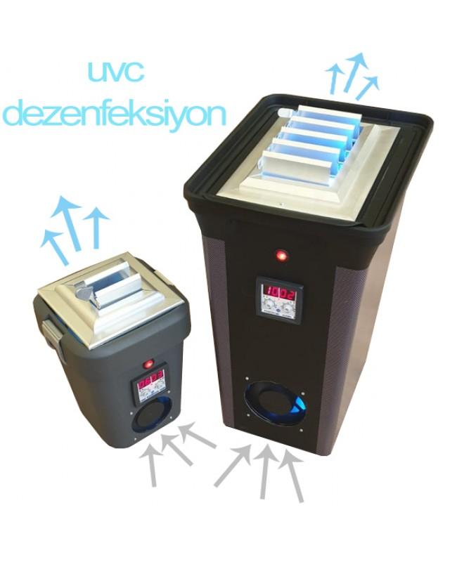 Ultraviyole(UVC) Lambalı Hava Steriliyazson, Temizleme Cihazı 6W, 2x6W, 16W, 2x16W