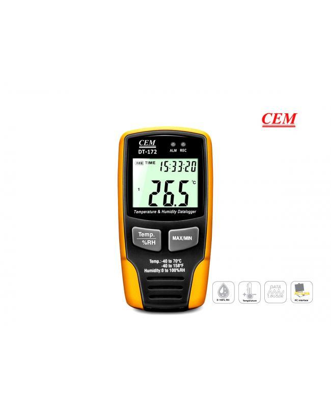 Cem DT172 Datalogger Sıcaklık Nem Kayıt Cihazı