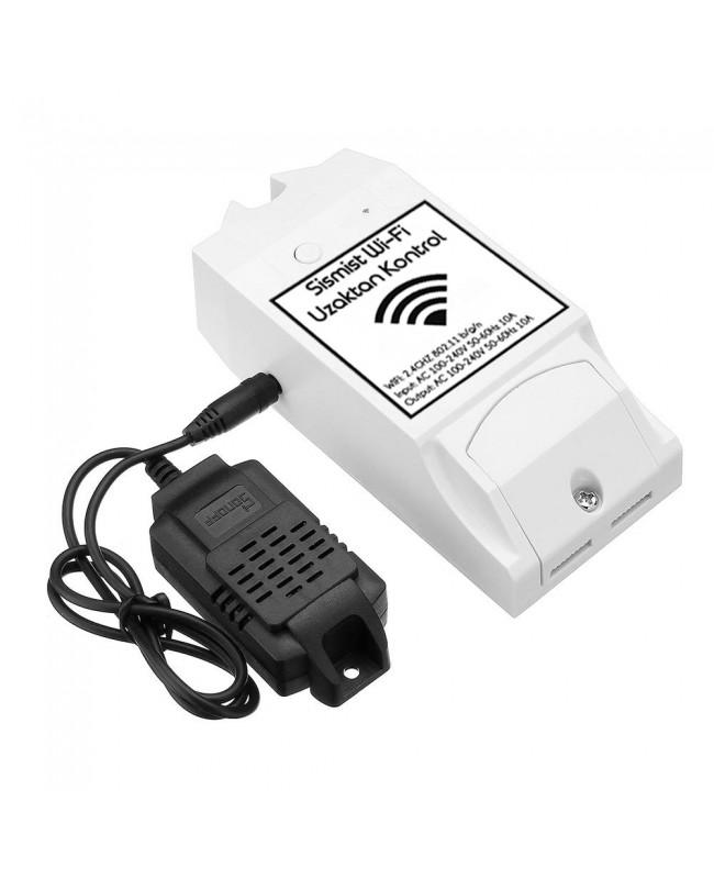WiFi Kontrol Cihazı Ve Nem, Isı Sensörü