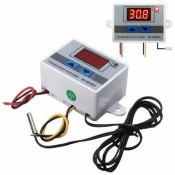 Isı Kontrol Kumanda Cihazı 220V, 1 Metre Prob, Kolay Kurulum